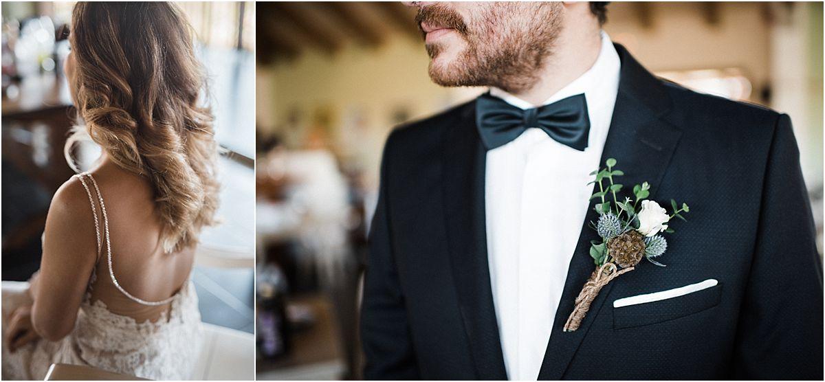 Groom and bridal detals